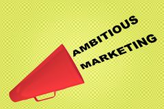 Ambitious Marketing concept Stock Photography