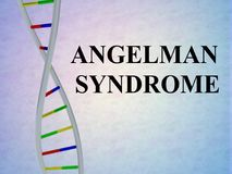 ANGELMAN SYNDROME concept Royalty Free Stock Photography