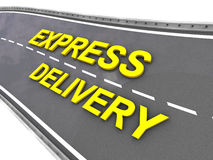 Express deliver Royalty Free Stock Photos