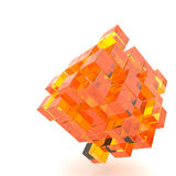 3d illustration basic geometric shapes Royalty Free Stock Photos