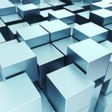 3d illustration basic geometric shapes Stock Photos