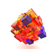 3d illustration basic geometric shapes Stock Image