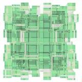3d illustration basic geometric shapes Stock Image