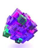 3d illustration basic geometric shapes Royalty Free Stock Images