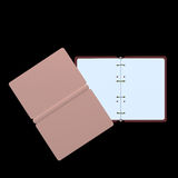 3d illustration of blank notepad Royalty Free Stock Photos