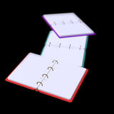3d illustration of blank notepad Royalty Free Stock Images
