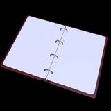 3d illustration of blank notepad Royalty Free Stock Photography