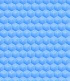 3D Illustration - blaue isometrische scuares lizenzfreies stockbild