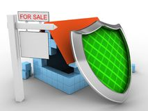 3d sale sign Royalty Free Stock Photography