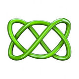3d illustration of Celtic knot Royalty Free Stock Photography