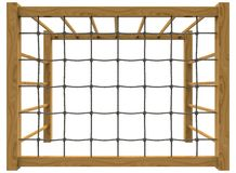 3d illustration of children playground gates. Royalty Free Stock Images