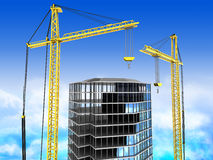 3d building Stock Photos