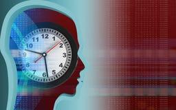 3d head profile Stock Images