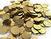 Coins heap Royalty Free Stock Image
