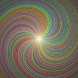 3D Illustration Colorful Abstract Background royalty free stock images