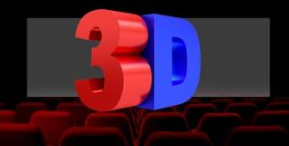 3D illustration, concept num?rique de technologie d'industrie du cin?ma 3D illustration libre de droits