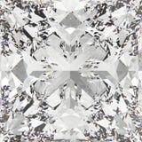3D illustration crop diamond texture Royalty Free Stock Image
