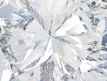 3D illustration crop diamond zoom Royalty Free Stock Photography