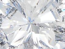 3D illustration crop diamond zoom Stock Photos