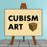 Cubism Art concept Royalty Free Stock Images