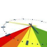 3d Illustration, 3d übertragen, ` Fristenzeit ist rechtes ` Stockfotografie