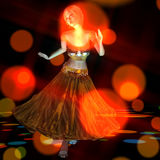 3D Illustration of a dancing Girl Royalty Free Stock Image