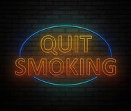 Quit smoking concept. Stock Images