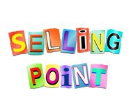Selling point concept. Stock Image