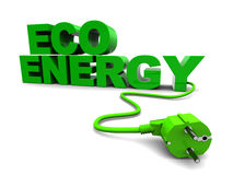 Eco energy Stock Image