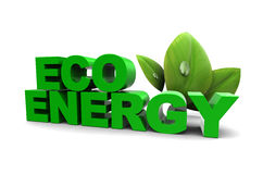Eco energy Stock Photo