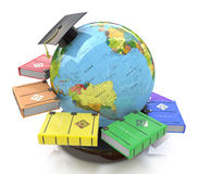 3d illustration of Education royalty free stock photography