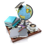 3d illustration of Education Stock Photography