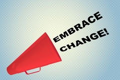 Embrace Change! concept Royalty Free Stock Photo