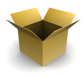 Empty box Royalty Free Stock Photography