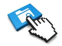 Encrypted Folder Icon Stock Photography