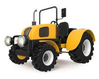 3d illustration farmers tractor Royalty Free Stock Image