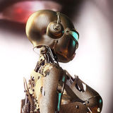 3D Illustration of a Fembot Royalty Free Stock Photography