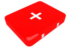3d illustration of first aid kit Royalty Free Stock Photography