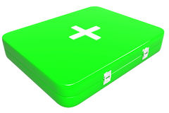 3d illustration of first aid kit Royalty Free Stock Images