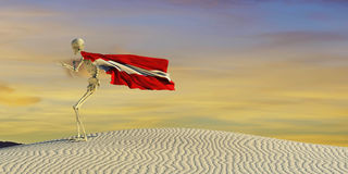 3d illustration of the flag. 3d illustration of the Austrian flag Stock Images