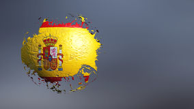 3d illustration of the flag Royalty Free Stock Photo