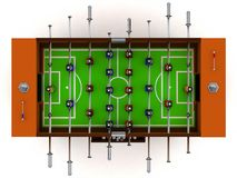 3D Illustration Of Football And Soccer Table Board Game Vector Stock Images