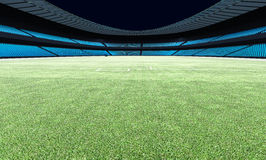 3D illustration of a football stadium Royalty Free Stock Images