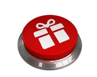 Gift Box Icon. 3d illustration of Gift Box icon Stock Image