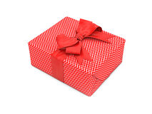 3d illustration of gift box Royalty Free Stock Images