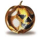 3d illustration Halloween disco ball  Stock Images