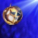 3d illustration Halloween disco ball Royalty Free Stock Photos