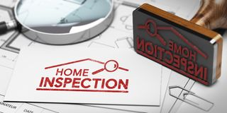 Home inspector, Buyer or Seller Property inspection. Stock Image