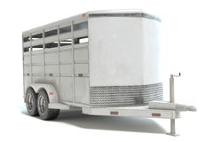 Horse Trailer Royalty Free Stock Image