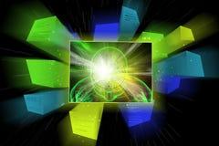 Human brain development concept. 3d illustration of human brain development concept Royalty Free Stock Images